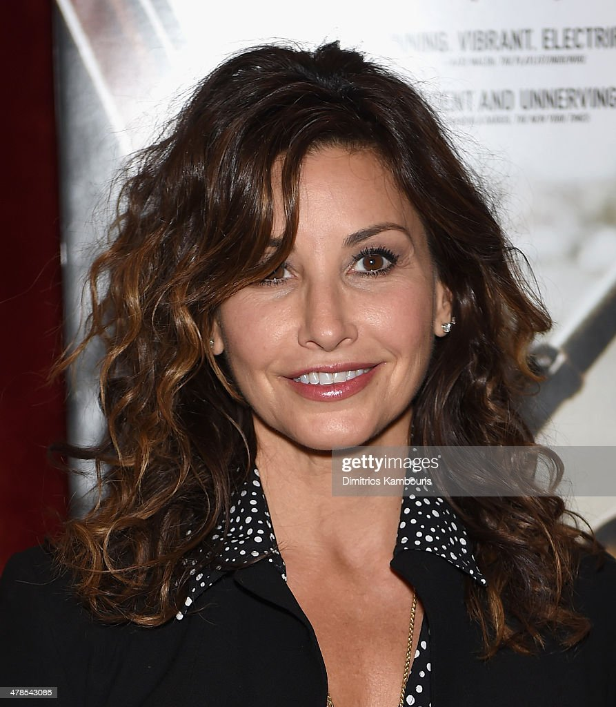 Gina Gershon attends Seth Meyers with the Orchard & the Cinema Society Host a Special Screening of 'Cartel Land' at Tribeca Grand Hotel on June 25, 2015 in New York City.