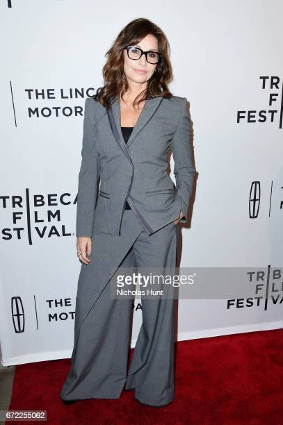 Gina Gershon attends the 'Permission' Premiere 2017 Tribeca Film Festival at SVA Theatre on April 22 2017 in New York City