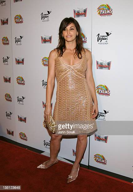 Gina Gershon during CineVegas Film Festival 2005 'Showgirls' Arrivals at Brenden Theatres in Las Vegas Nevada United States