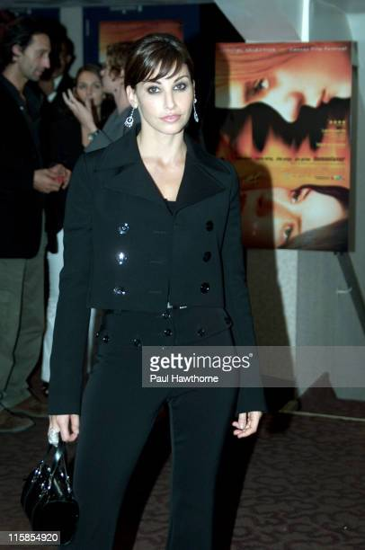 Gina Gershon during 'Demonlover' Premiere New York at Gramercy Theatre in New York City New York United States