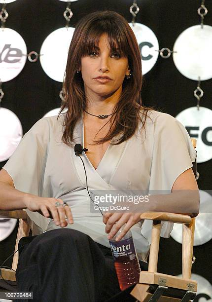 Gina Gershon during IFC Presentation of 'Rocked with Gina Gershon' at the Television Critics Association Meeting at Renaissance Hollywood Hotel in...