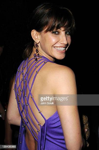 Gina Gershon during MOCA Celebrates 25 Years of Ground Breaking Art Achievements Inside at MOCA at The Geffen Contemporary in Los Angeles California...