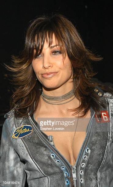 Gina Gershon during MTV Rock The Vote 10th Annual Patrick Lippert Awards at Roseland Ballroom in New York NY United States