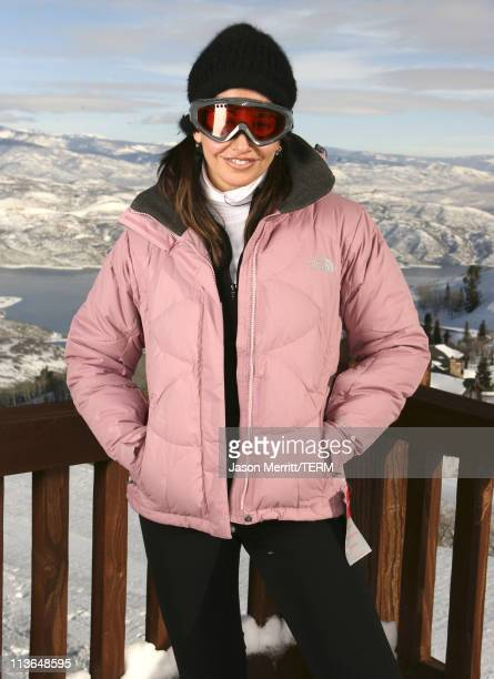 Gina Gershon with North Face at The North Face House *Exclusive Coverage*