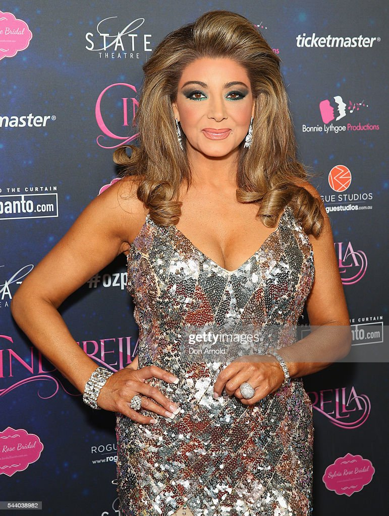 Gina Liano arrives ahead of opening night of Cinderella at State Theatre on July 1, 2016 in Sydney, Australia.