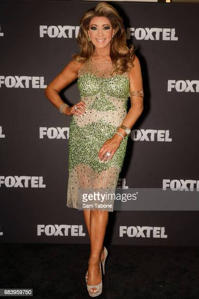 Gina Liano during the Real Housewives Of Melbourne Season 4 Media Call at Grand Hyatt Melbourne on May 17 2017 in Melbourne Australia