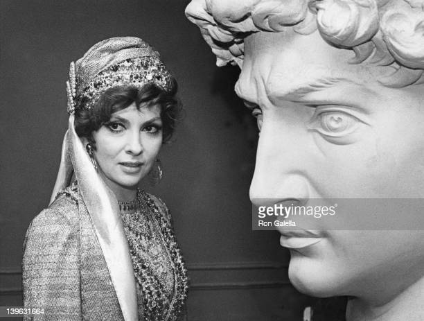 Gina Lollabrigida attends The Million Dollar Extravaganza on May 4 1970 at the Waldorf Hotel in New York City