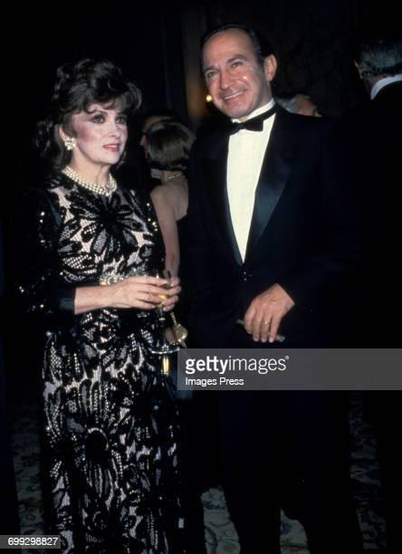 Gina Lollobrigida and Ben Gazzara circa 1983 in New York City