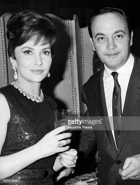 Gina Lollobrigida And Raymond Pellegrin Partners In The Film Venus Imperiale On January 4Th 1963