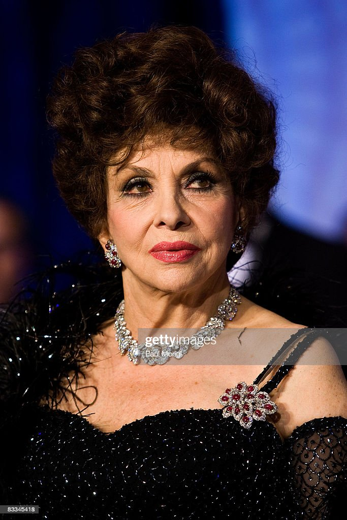 Gina Lollobrigida at the National Italian American Foundation (NIAF) 33rd Anniversary Awards at the Hilton Washington and Towers on October 18, 2008 in Washington, DC.