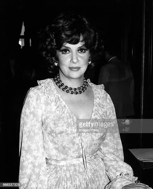 Gina Lollobrigida circa 1981 in New York City