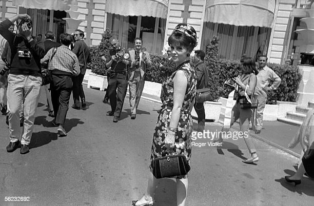 Gina Lollobrigida Italian actress Cannes Film Festival 1965 HA1794
