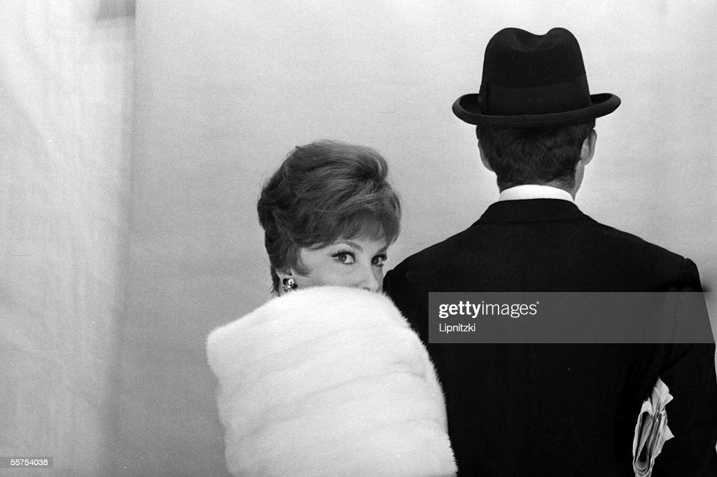 Gina Lollobrigida, Italian actress. France, by 1965. LIP