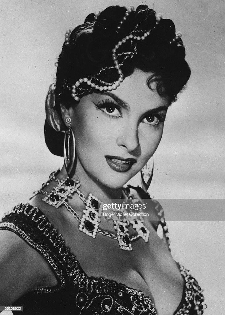 Gina Lollobrigida, Italian actress, in 'Belles de nuit' of Rene Clair. France, 1952.