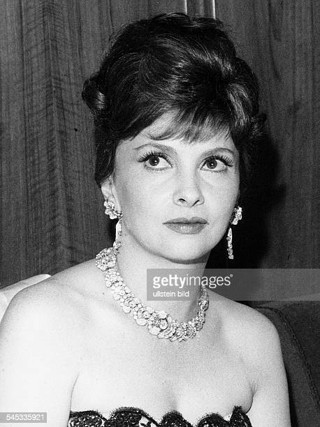 Gina Lollobrigida*Schauspielerin Italien um 1965