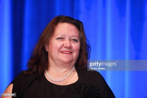 Gina Rinehart at the Channel 10 AGM on November 9 2011 in Sydney Australia