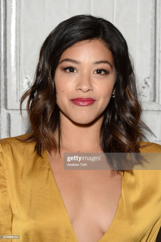 Gina Rodriguez attends Build Presents Gina Rodriguez discussing 'The Star' at Build Studio on November 6, 2017 in New York City.
