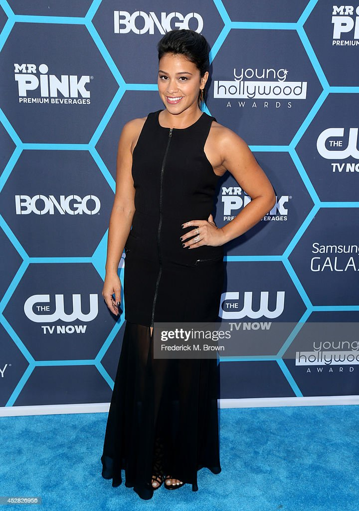 Gina Rodriguez attends the 2014 Young Hollywood Awards brought to you by Samsung Galaxy at The Wiltern on July 27, 2014 in Los Angeles, California.