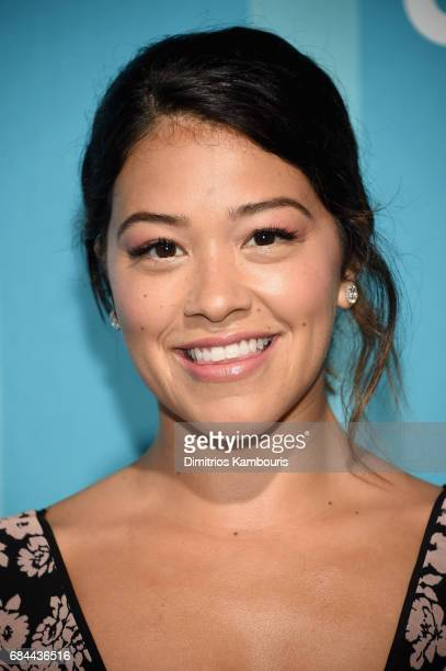 Gina Rodriguez attends the 2017 CW Upfront on May 18 2017 in New York City