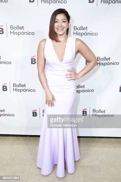 Gina Rodriguez attends the Ballet Hispanico Celebrates TrailBlazing Latina Leaders Rita Moreno and Nina Vaca at 2017 Carnaval Gala at The Plaza Hotel...