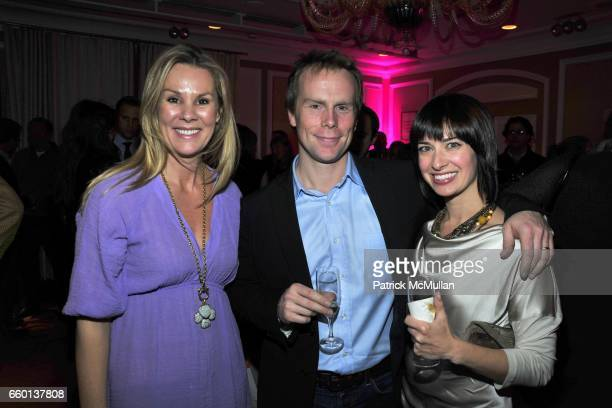 Gina Switzer Brandon Kavulla and AnneMarie Kavulla attend Party For KERI GLASSMAN O2 DIET Book at Regency Hotel on January 26 2010 in New York City