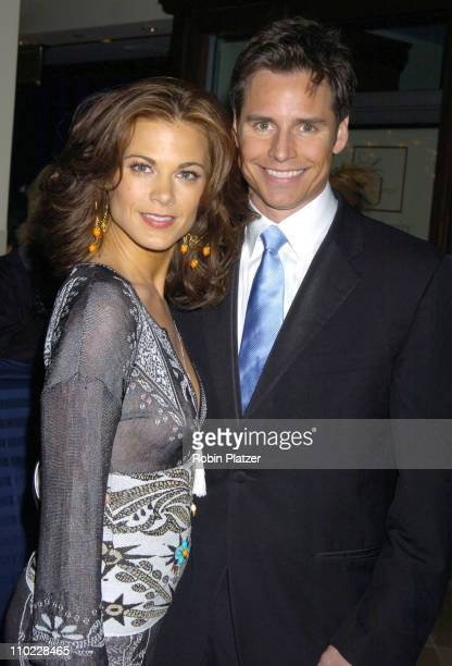Gina Tognoni and Dan Gauthier during 32nd Annual Daytime Emmy Awards Outside Arrivals at Radio City Music Hall in New York City New York United States