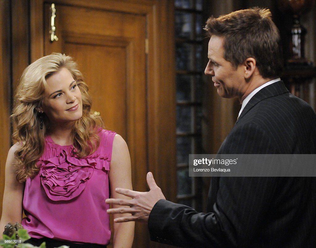 LIVE - Gina Tognoni (Kelly) and Dan Gauthier (Kevin) in a scene that airs the week of May 3, 2010 on ABC Daytime's 'One Life to Live.' 'One Life to Live' airs Monday-Friday (2:00 p.m. - 3:00 p.m., ET) on the ABC Television Network. OLTL10 (Photo by Lorenzo Bevilaqua/ABC via Getty Images) GINA