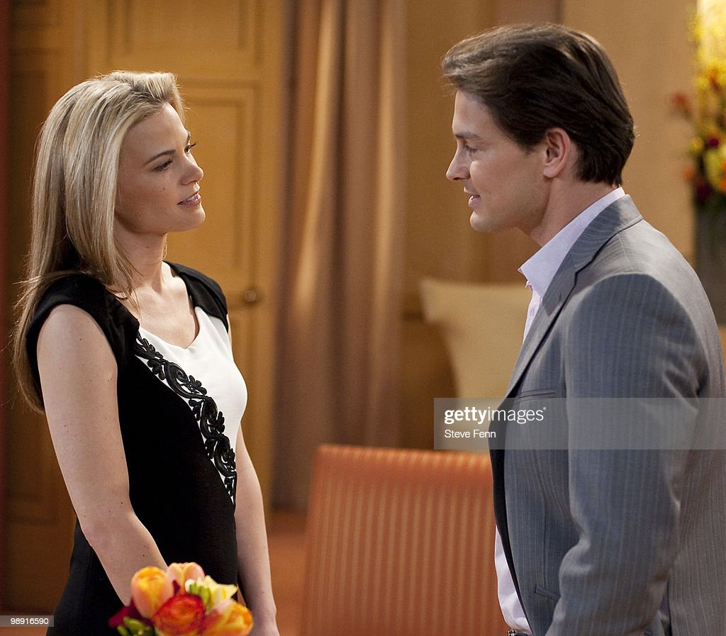 LIVE - Gina Tognoni (Kelly) and Gavin Alexander Hammon (Reed) in a scene that airs the week of May 3, 2010 on ABC Daytime's 'One Life to Live.' 'One Life to Live' airs Monday-Friday (2:00 p.m. - 3:00 p.m., ET) on the ABC Television Network. OLTL10 (Photo by Steve Fenn/ABC via Getty Images) GINA