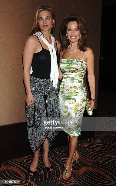 Gina Tognoni and Susan Lucci during The Rose Luncheon Benefitting Little Flower Children and Family Services of New York Honoring Susan Lucci June 13...