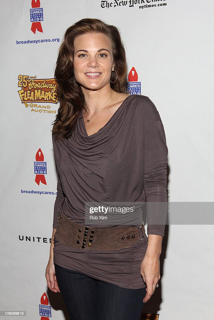 Gina Tognoni attends the 25th annual Broadway Flea Market at The Bernard B. Jacobs Theatre on September 25, 2011 in New York City.
