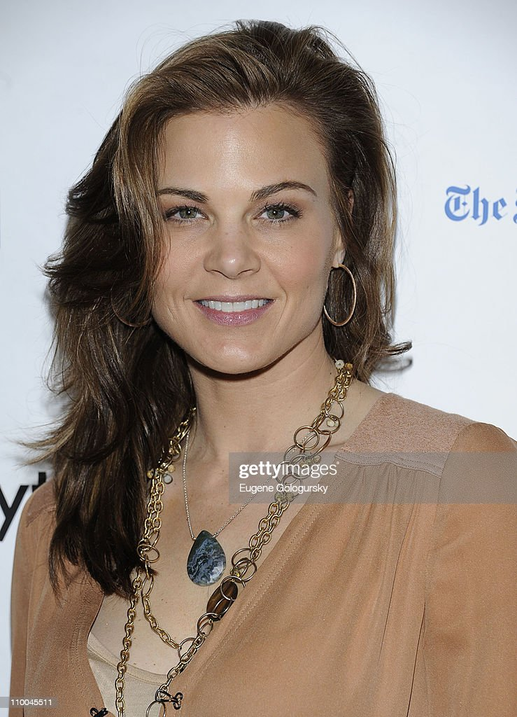 Gina Tognoni attends the 7th Annual ABC & SOAPnet Salute Broadway Cares/Equity Fights Aids Benefit closing celebration at The New York Marriott Marquis on March 13, 2011 in New York City.