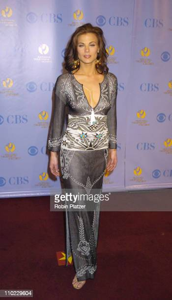 Gina Tognoni during 32nd Annual Daytime Emmy Awards Media Press Room at Radio City Music Hall in New York New York United States