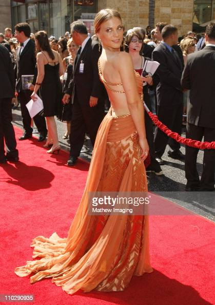 Gina Tognoni during 34th Annual Daytime Emmy Awards Red Carpet at Kodak Theatre in Hollywood California United States