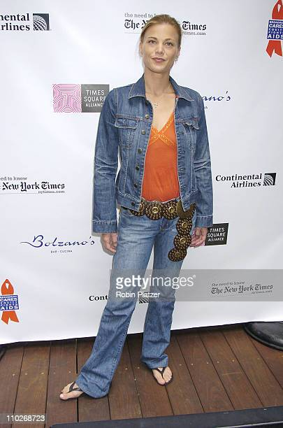 Gina Tognoni during Broadway Cares/Equity Fights AIDS 19th Annual Flea Market and Celebrity Autograph Table at The Patio at Bolzanos Bar in New York...