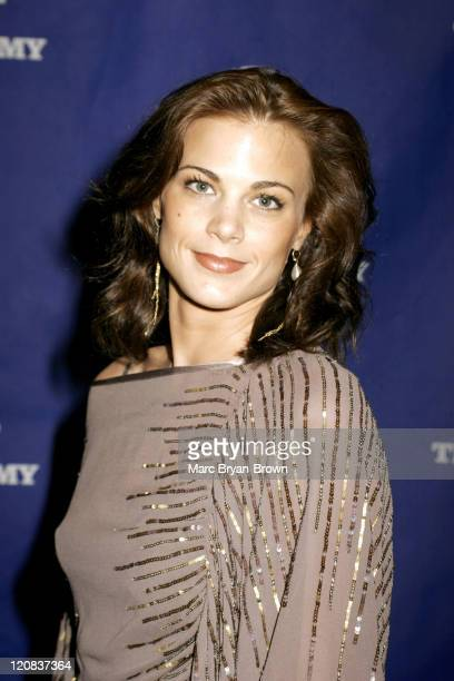 Gina Tognoni of 'Guiding Light' during The 32nd Annual Creative Craft Daytime Emmy Awards at Mariott Marquis Hotel in New York City New York United...