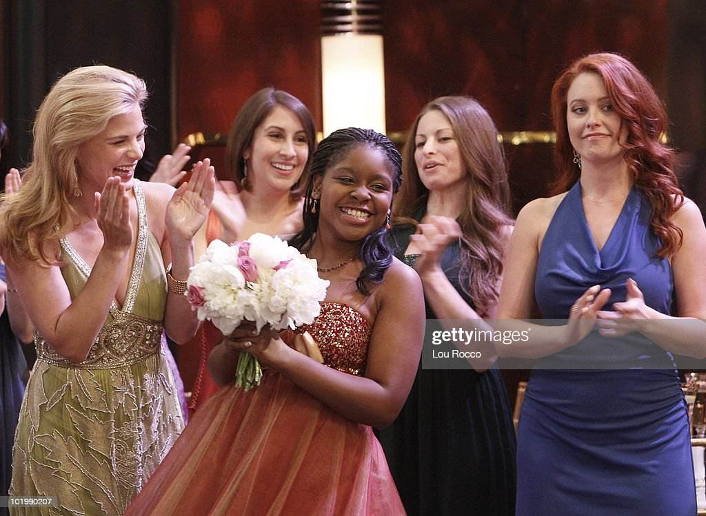 LIVE - Gina Tognoni (Kelly), Shenell Edmonds (Destiny) and Melissa Archer (Natalie) in a scene that begins airing the week of June 7, 2010 on ABC Daytime's 'One Life to Live.' 'One Life to Live' airs Monday-Friday (2:00 p.m. - 3:00 p.m., ET) on the ABC Television Network. OLTL10 (Photo by Lou Rocco/ABC via Getty Images) GINA