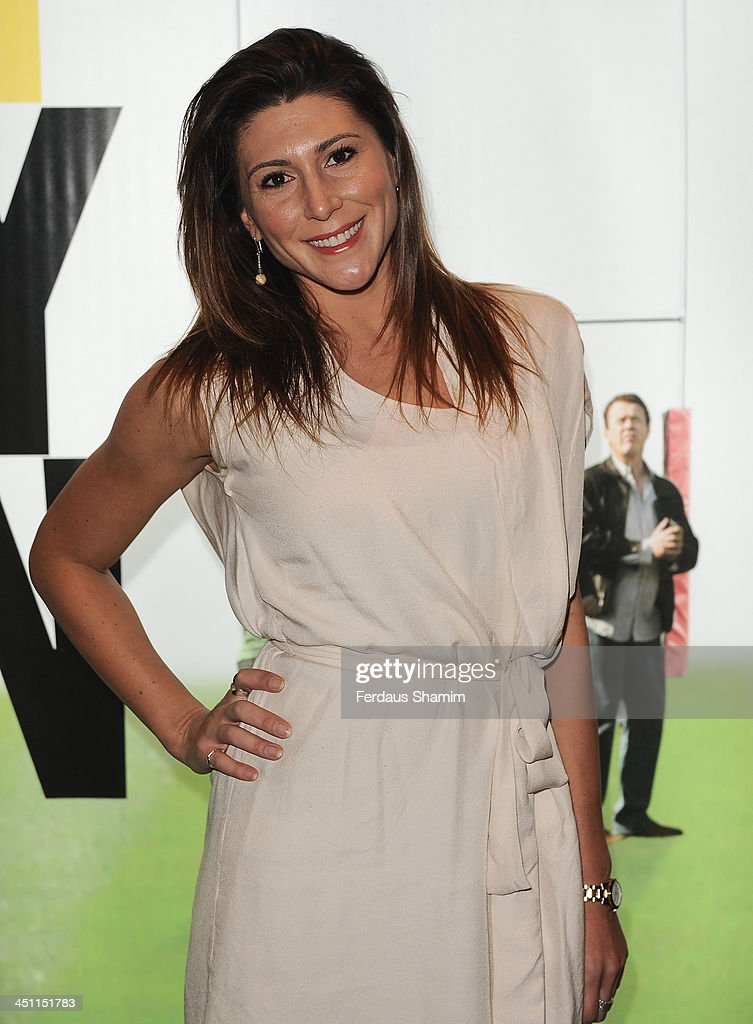 Gina Varela attends the world premiere of 'Breakfast With Jonny Wilkinson' at Empire Leicester Square on November 21, 2013 in London, England.