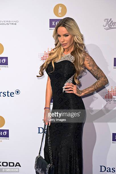 GinaLisa Lohfink attends the Echo Award 2016 on April 7 2016 in Berlin Germany