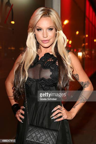 GinaLisa Lohfink during the opening of the night club Sam's on November 6 2015 in Munich Germany