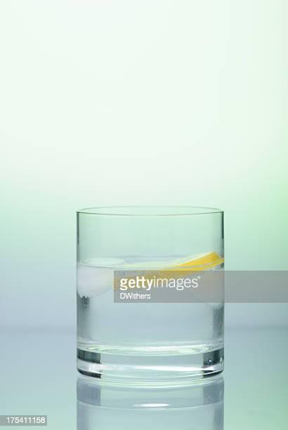 Gin and Tonic avec glace et citron