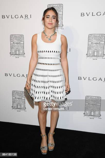 Ginevra Bulgari attends a party to celebrate the Bvlgari Flagship Store Reopening on October 20 2017 in New York City