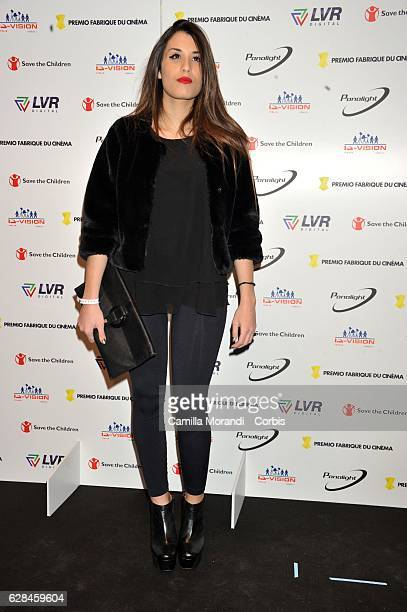 Ginevra De Carolis attends the Fabrique Du Cinema Awards In Rome on December 7 2016 in Rome Italy