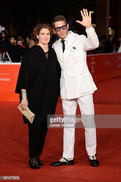 Ginevra Elkann and Lapo Elkann attend 'Dallas Buyers Club' Premiere during The 8th Rome Film Festival on November 9 2013 in Rome Italy