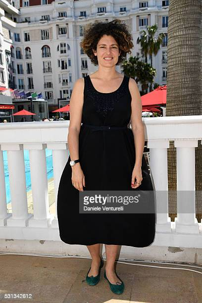 Ginevra Elkann attends 62nd Taormina FilmFest Launch during The 69th Annual Cannes Film Festival at Italian Pavillon on May 14 2016 in Cannes