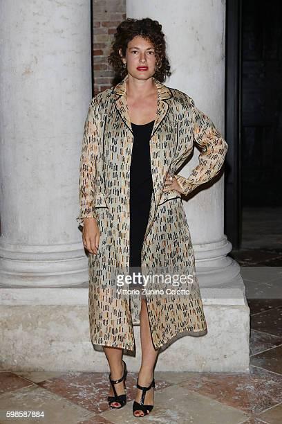 Ginevra Elkann attends Miu Miu Women's Tales Dinner during the 73rd Venice Film Festival at Ca' Corner della Regina on September 1 2016 in Venice...