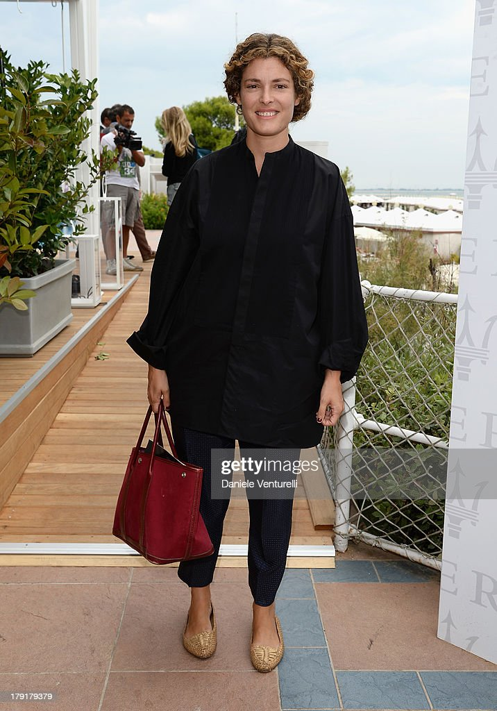 Ginevra Elkann attends Premio Kineo Photocall during the 70th Venice International Film Festival at Terrazza Maserati on September 1, 2013 in Venice, Italy.