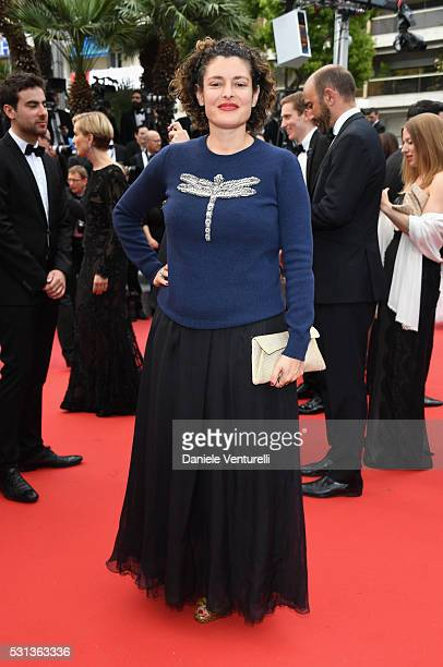 Ginevra Elkann attends 'The BFG ' premiere during the 69th annual Cannes Film Festival at the Palais des Festivals on May 14 2016 in Cannes France