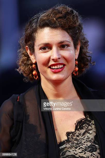 Ginevra Elkann attends the premiere of 'The Bad Batch' during the 73rd Venice Film Festival at Sala Grande on September 6 2016 in Venice Italy