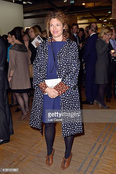 Ginevra Elkann attends the 'Societe des amis du Musee D'Art Moderne' Annual Dinner Held at Centre Pompidou on March 11 2014 in Paris France