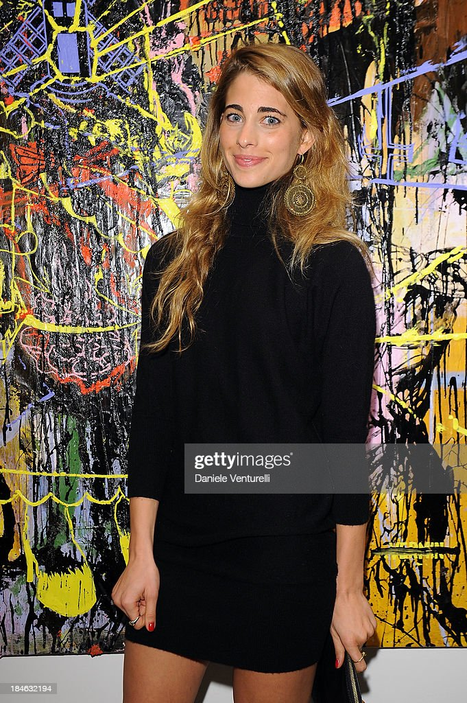 Ginevra Ligresti attends Cardi Black Box Gallery Present Nicolas Pol hosted by Nicolo Cardi And Vladimir Restoin Roitfeld at Cardi Black Box on October 14, 2013 in Milan, Italy.